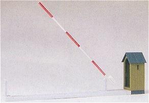 Puesto de control con barrera, 1:87, Preiser