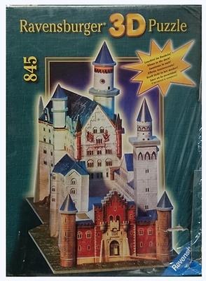 Puzzle 3D, Castillo de Neuschwanstein, Ravensburger