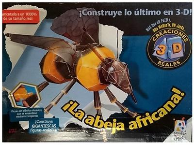 Puzzle 3D, La abeja africana, Popular Juguetes