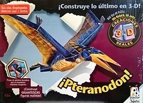 Puzzle 3D, Pteranodon, Popular Juguetes