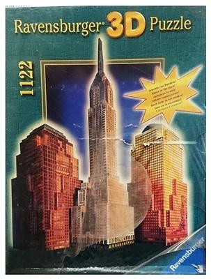 Puzzle 3D, Rascacielos de Nueva York, Ravensburger