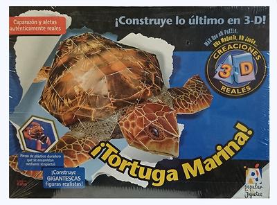 Puzzle 3D, Tortuga Marina, Popular Juguetes