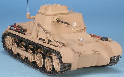 Pz-Befehlswagen I Ausf.B Commandement, Afrikakorps, Tobruk, Libia, 1941, 1:48, Gasoline