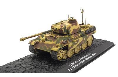 Pz.Bef.Wg. V Panther Ausf. G, 116. Panzer-Division, Alemania, 1945, 1:72, Altaya