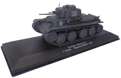Pz.Kpfw: 38(t) Ausf. F, 7ª División Panzer, Wyazma (URSS), 1941, 1:43, Atlas