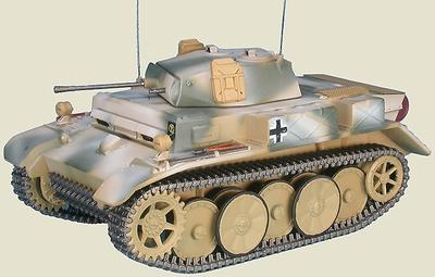 Pz.Kpfw II Ausf.L Luchs / Lynx Sd.Kfz.123, 4th Pz. Div., Rusia, 1943-44, 1:48, Gasoline