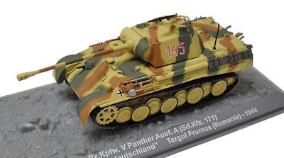 Pz.Kpfw V Panther Ausf. A (sd.Kfz. 171), Targul Frumos, Rumanía, 1944, 1:72, Altaya