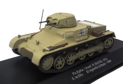 Pz.Kpfw. I Ausf. B (sd.Kfz. 101), 5 Ie.Div., El Aghelia, Libia, 1941, 1:43, Atlas
