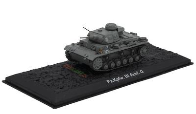 Pz.Kpfw. III Ausf. G, Germany, 1939/45, 1:72, Atlas Editions