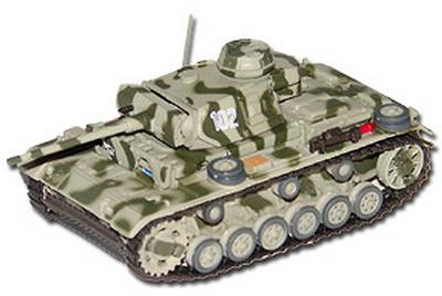 Pz.Kpfw. III Ausf. L (Sd.kfz. 141/1), Tortolowo (USSR), 1942, 1:72, Altaya