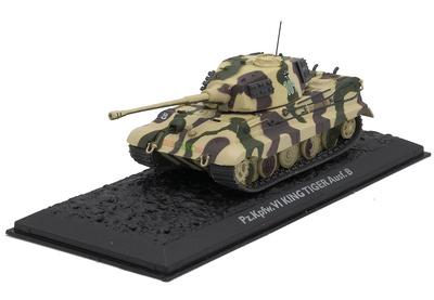 Pz.Kpfw. VI King Tiger Ausf. B, Germany, 1944/45, 1:72, Atlas Editions