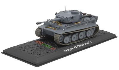 Pz.Kpfw. VI Tiger Ausf. E, Alemania, 1942/45, 1:72, Atlas Editions