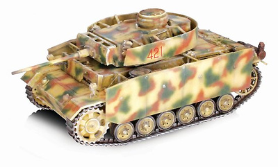 Pz.Kpfw.III Ausf.M w/Schurzen 4./Pz.Rgt. 15 11.Pz.Div. Kursk, 1943, 1:72, Dragon Armor
