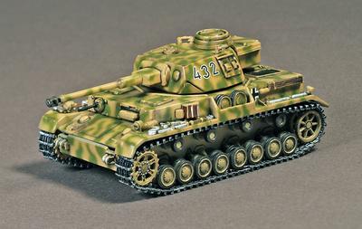 Pz.Kpfw.IV Ausf.G, 23 Panzer Division,  201 Panzer Regiment, Alemania, 1943, 1:72, War Master