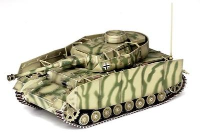 Pz.Kpfw.IV Ausf.H, Mid Prod., Frente del Este, 1943, 1:72, Dragon Armor