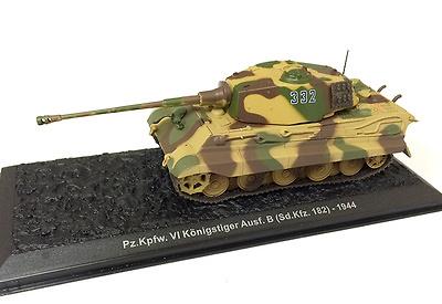 Pz.Kpfw.VI Königstiger Ausf.B (Sd.Kfz.182) 1944, 1:72, Altaya