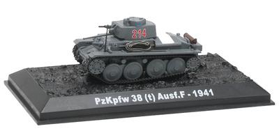 PzKpfw 38(t) Ausf.F, 1941, 1:72, Blitz72