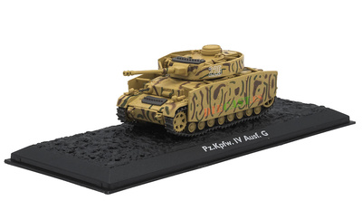 PzKpfw IV Ausf. G, Alemania, 1942, 1:72, Atlas Editions