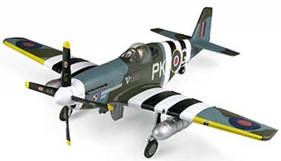 RAF P-51C Mustang III, 1:32, 21st Century Toys