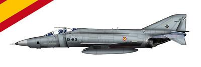 RF-4C Phantom II, Ala 12 de Torrejón, Ejército del Aire, España, 1971, 1:72, Hobby Master