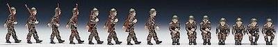RO00871 Soldados de la OTAN, 15 unidades pintadas a mano, 1:87, Roco
