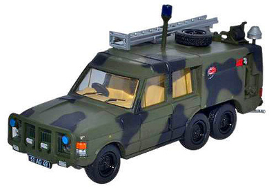 Range Rover TACR2 (Tactical Aircraft Crash Rescue), RAF, Camuflaje, 1:76, Oxford
