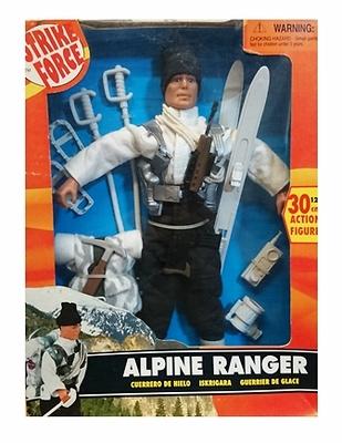 Ranger alpinista, guerrero de hielo, Strike Force, Sunny Smile