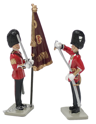 Receiving de Colour, Welsh Guards, 1:32, William Britains