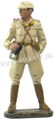 Reggimento Nizza Cavalleria, Africa settentrionale 1942, 1:24, Hachette