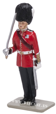 Regimental Sergeant Major Grenadier Guards, 1:32, William Britains