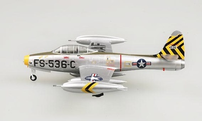 Republic F-84E-25, 8th Fighter Bomber Squadron, Lt. Donald James, 1:72, Easy Model