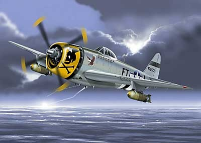 Republic P-47 Thunderbolt, USAAF, 1:48, Franklin Mint