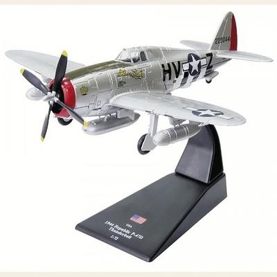 Republic P-47D Thunderbolt, 1944, 1:72, Amercom