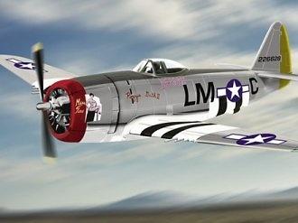 Republic P-47D Thunderbolt, USAAF, 1:48, Franklin Mint