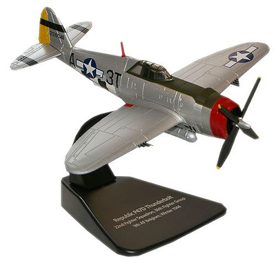 Republic P-47D Thunderbolt, USAAF 36th FG, 22nd FS, Bélgica, 1944, 1:72, Oxford