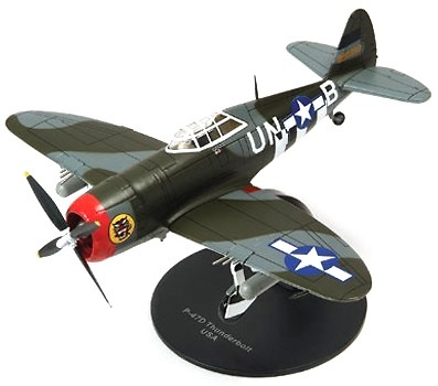 "Republic P-47D Thunderbolt ""Razorback"", 1944, 1:72, Altaya"
