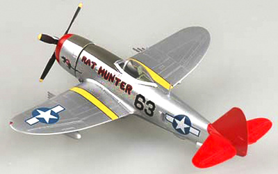 "Republic P-47D Thunderbolt ""Red Tails"", 1:72, Easy Model"