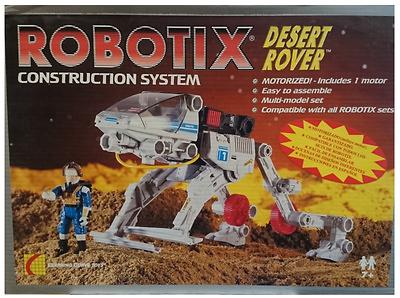Robotix, Desert Rover, Learning Curve Toys