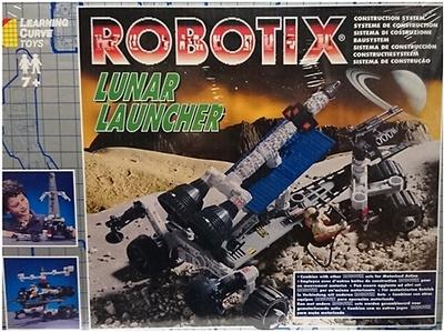 Robotix, Lunar launcher, Learning Curve Toys