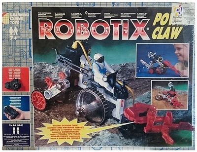 Robotix, Power Claw, Learning Curve Toys