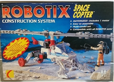 Robotix, Space Coopter, Learning Curve Toys