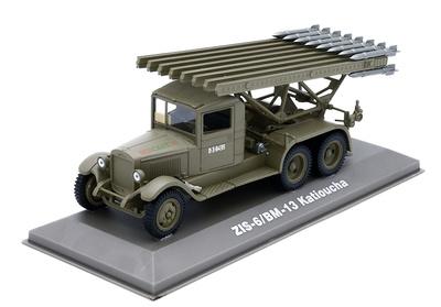 Rocket launcher truck ZIS-6/BM-13 Katioucha, URSS, 1:43, Atlas