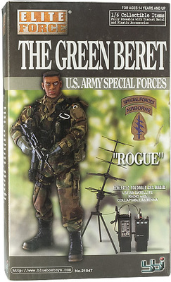 """Rogue"" Green Beret, U.S. Army Special Forces, 1:6, Elite Force"