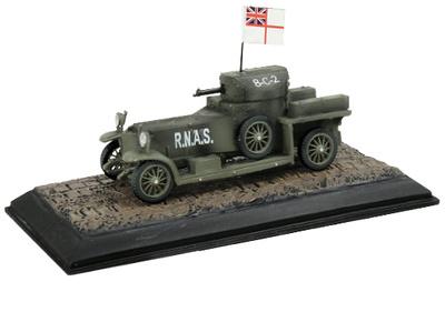 Rolls Royce, coche armado, RNAS, 8-C-2, Primera Guerra Mundial, 1/72, Wings of the Great War