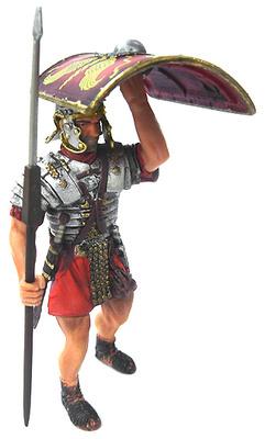 Romano con Escudo en alto, 1:18, Blue Box