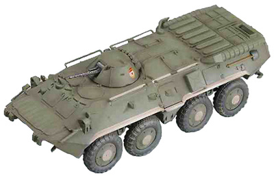 Russian BTR-80 APC, 1:72, Easy Model