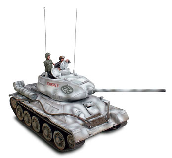 Russian T-34 m85- East Prussia, 1:32, Forces of Valor