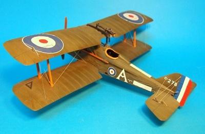 S.E.5a D 276, No.74 Sqn. RAF, Capitán E. Mick Mannock, Primavera 1918, 1:30, John Jenkins