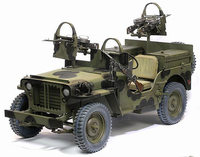 SAS Raider 4x4 Truck, Northwest Europe 1944, 1:6, Dragon Figures
