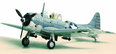 "SBD-2 Dauntless VMSB-241, ""Battle of Midway "", 1:72, Hobby Master"